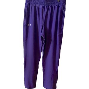 Under Armour Heat Gear Warmup  Track Pants Large